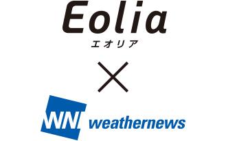 Đã liên kết với nhà cung cấp thông tin thời tiết Weathernews