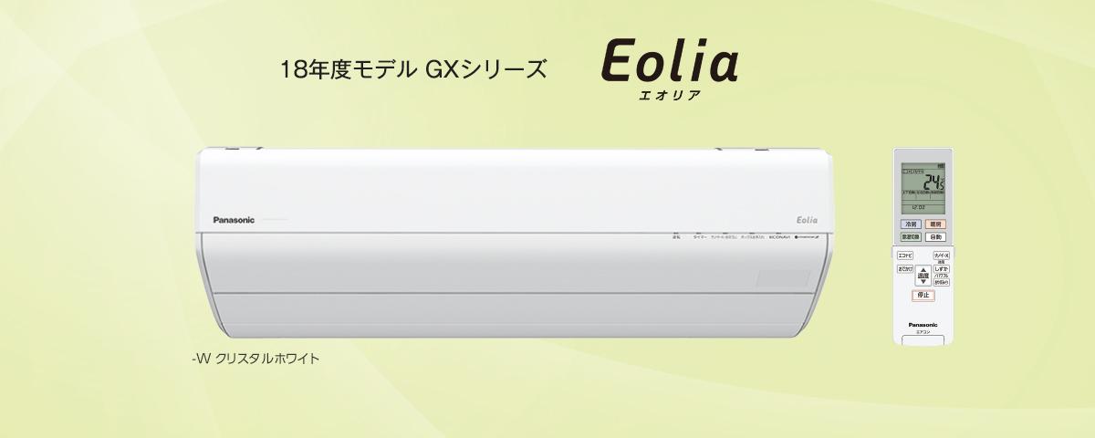 Panasonic エオリア CS-GX258C