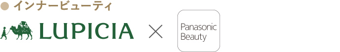 Panasonic Beauty SALON×LUPICIAロゴ画像です。