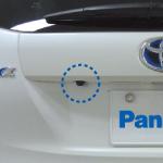 車種専用リヤビューカメラ取付けキット画像