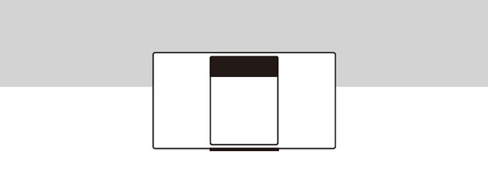 設置イメージ:壁際に設置(NEAR WALL)
