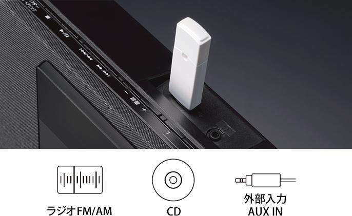 イメージ:USBメモリー録音機能