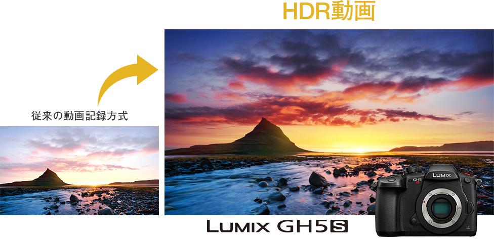 4k hdr動画記録 dc gh5s 一眼カメラ gシリーズ デジタルカメラ