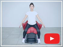 動画と一緒にコアトレチェアトレーニング