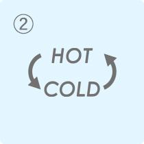 【アイコン】温冷リズムモード