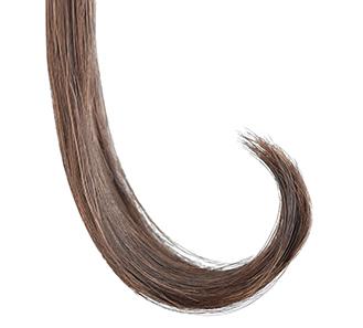 ゆるやかにカールした髪のイメージ