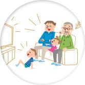 家族で観ているテレビの音が聞き取りにくい