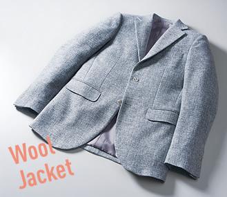 ウールのジャケット