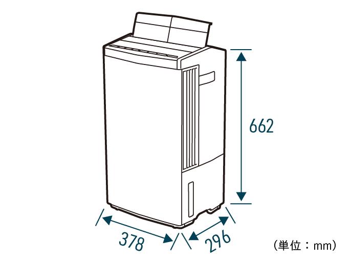 F-YHTX200の外形寸法を記したイラストです。