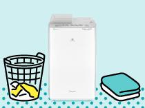 「衣類乾燥除湿機の選びかた」のイメージ画像です。クリックすると詳細ページへリンクします。