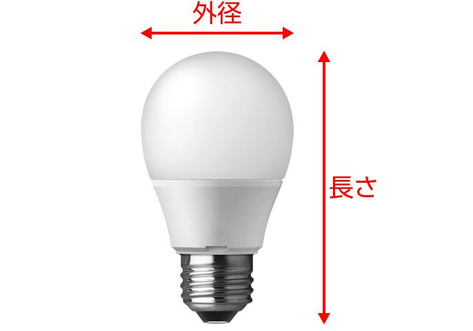 サイズ 見方 電球