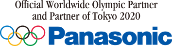 Official Worldwide Olympic Partner and Partner of Tokyo 2020 Panasonic