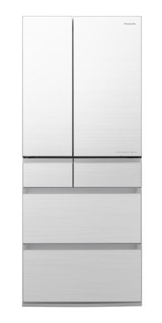 写真:パナソニックパーシャル搭載冷蔵庫 NR-F656WPX-W(フロスティロイヤルホワイト(フロスト加工))
