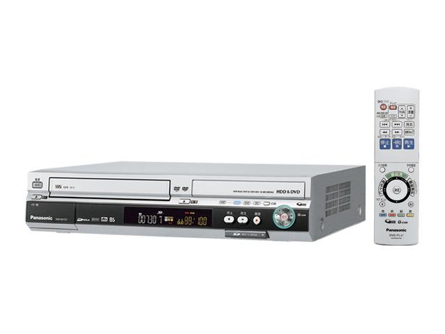 DVDレコーダー(200GB、HDD内蔵VHSビデオ一体型) DMR-EH73V    生産終了