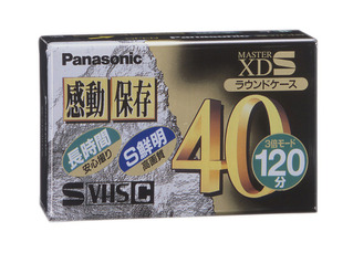 S-VHS-Cビデオテープ(ムービー用) NV-STC40XDK