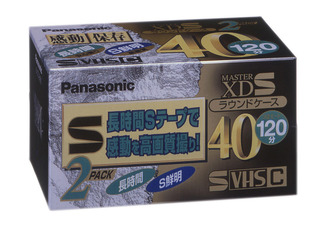 S-VHS-Cビデオテープ(ムービー用) NV-STC40XDK2