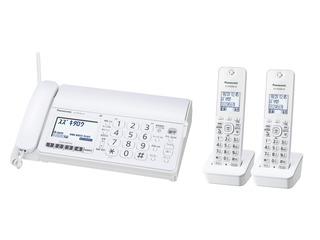 デジタルコードレス普通紙ファクス(子機2台付き)(モカ) KX-PD304DW