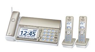 デジタルコードレス普通紙ファクス(受話子機+子機2台付き) KX-PD604DW