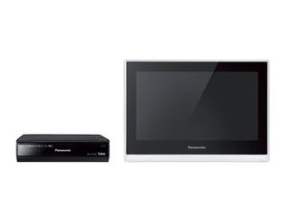 HDDレコーダー付 ポータブル地上・BS・110度CSデジタルテレビ(ブラック) UN-JL10T3