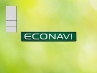 収納量センサーが庫内をセンシングしているイメージ画像です。エコナビの特長ページにリンクします。