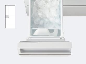 製氷室の写真です。製氷室の特長ページにリンクします。