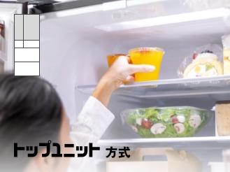 冷蔵室の食品を出し入れしている女性の画像です。クリックすると該当ページに移動します。
