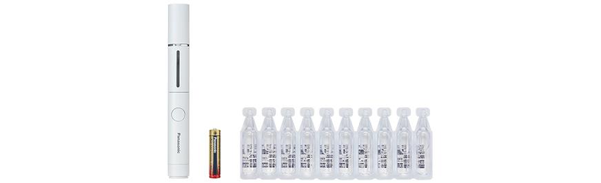 Hypochlorous acid portable disinfectant spray DL-SP006, 1 AAA alkaline battery, 10 salt water packs