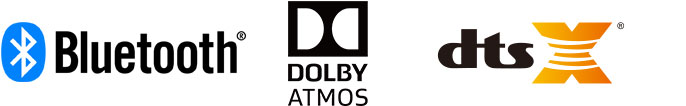 Bluetooth Dolby Atmos DTS:X