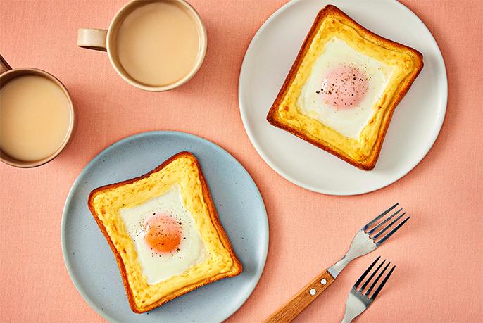アレンジトースト(エッグトースト)のイメージ