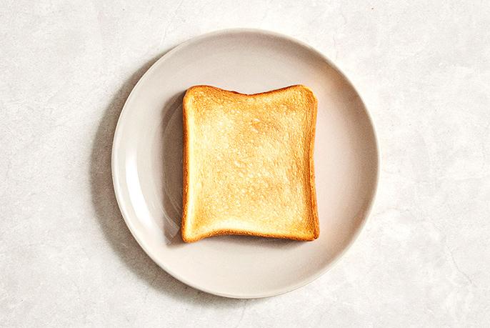 トーストのイメージ