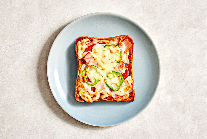 ピザトーストのイメージ