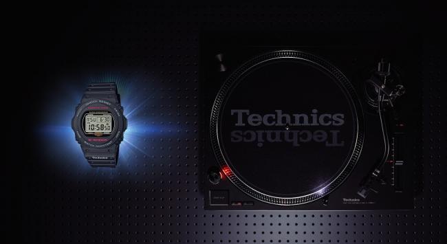 Technics ターンテーブル SL-1200MK7購入キャンペーン~2台購入で Technics ロゴ入りG-SHOCKプレゼント!