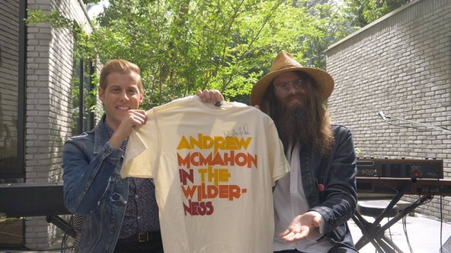 アンドリュー・マクマホンさんがパナソニック Creative!キャンペーンソング「ファイヤー・エスケイプ」を熱唱♪スペシャルライブ映像を公開!