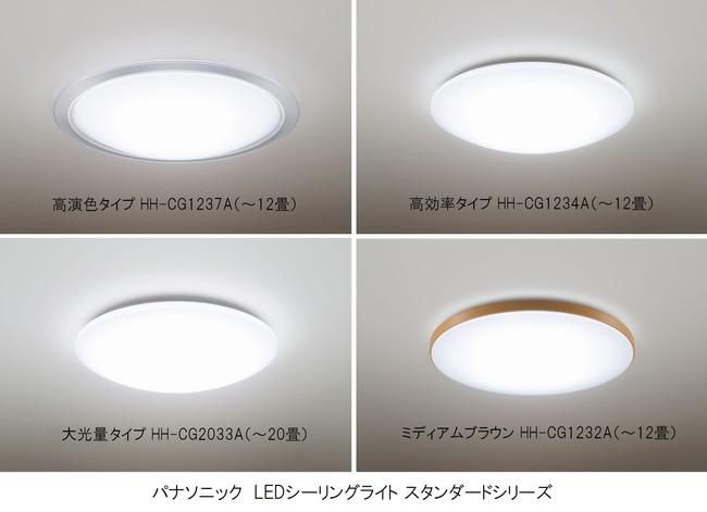 パナソニック LEDシーリングライト誕生から10年~特許取得の「文字くっきり光」や「おまかせモード」搭載のLEDシーリングライト スタンダードシリーズ発売、「高演色」タイプもラインアップ