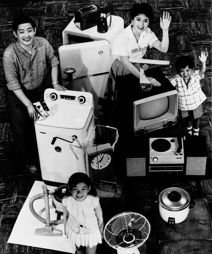 1950年代 日本のテレビ本放送スタート パナソニック テレビと家電の