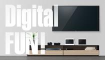 テレビの疑問解決、デジタル家電の使い方までをご紹介