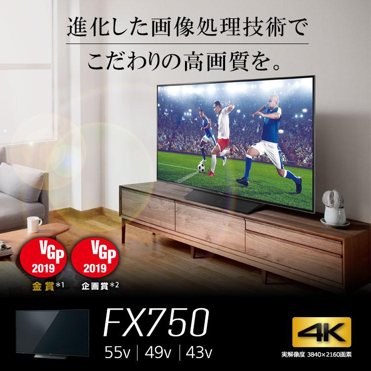Panasonic TH-55FX750 exhibition goods screen scratch